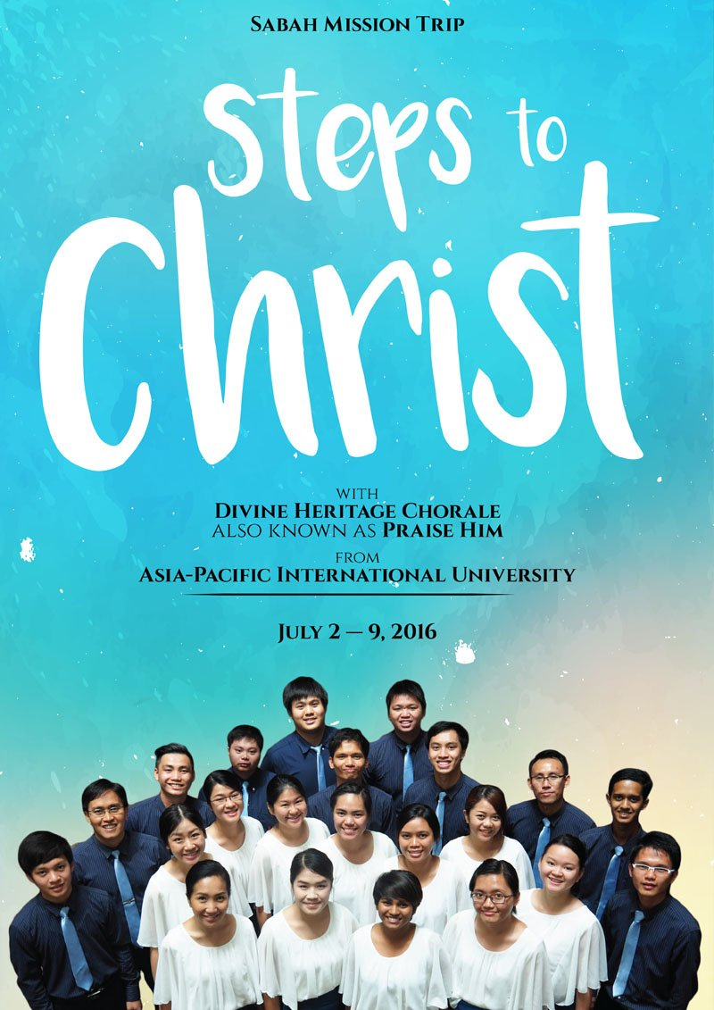 Steps to Christ Sabah Tour