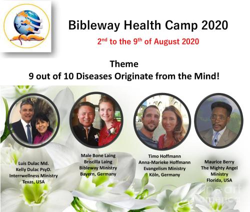Health Camp 2020 Poster English